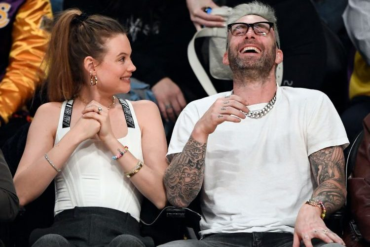 Adam Levine's Wife Says He's Getting Better With Age, Clearly Doesn't Go on Twitter