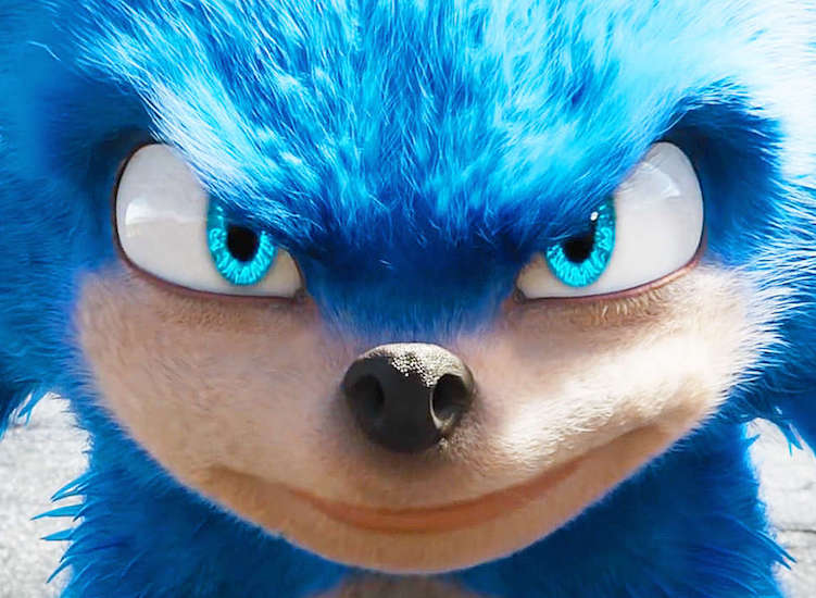 The Live-Action 'Sonic the Hedgehog' Movie Looks Like a CGI Dumpster Fire