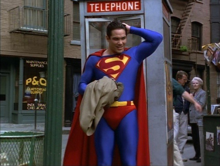 With Pay Phone Booths Gone, Superman Struggles to Find a Place to Change