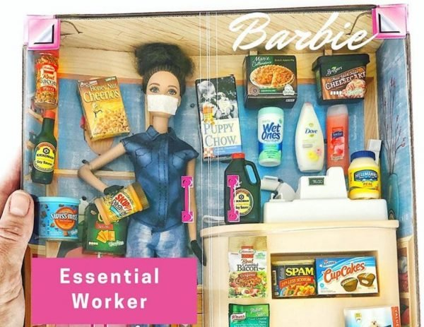 Woman Creates Quarantine Barbie and It's Spot-On 2020